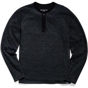 United By Blue Thermal Koszulka typu henley Mężczyźni, czarny